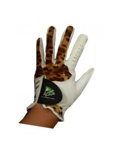 Leopard Golf Glove