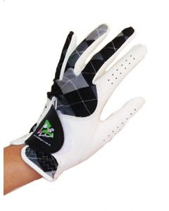 Blue Diamond Leather Glove